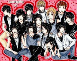 Super Junior - U by kawaiibabyheero