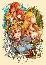 Zelda: Breath of the Wild by Clivenzu