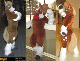 Clyde Full Suit by Fursuit