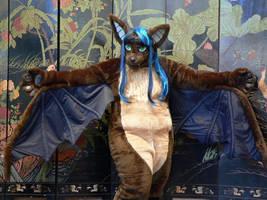 Indivara the Evening Bat by Fursuit