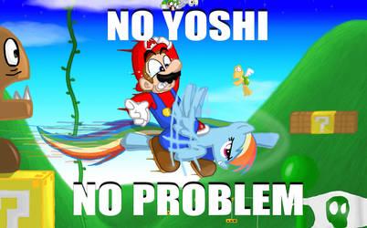 No Yoshi? No Problem. by s216Barber