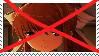 Anti Monika Stamp by BluexPinkSugarLove