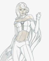 White Queen defiant by jtchan