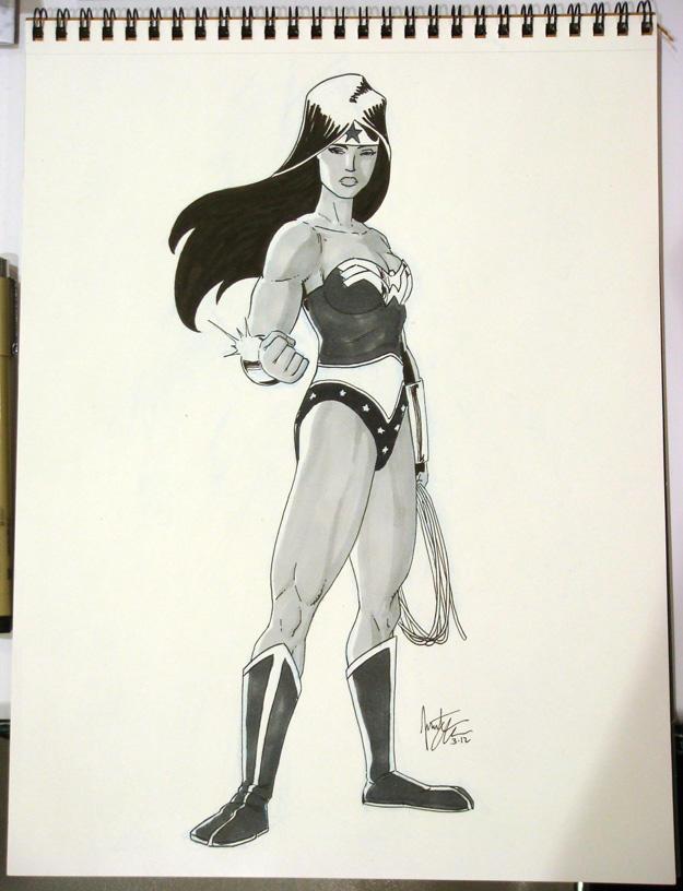 Wonder Woman - ECCC 2012 by jtchan