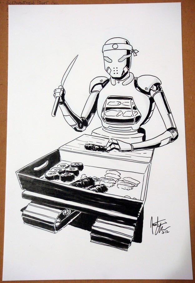 Sushi Robot - ECCC 2012 by jtchan