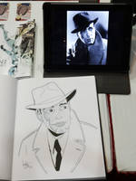 Humphrey Bogart - Las Vegas Comic Expo 2012 by jtchan