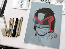 Judge Dredd - Las Vegas Comic Expo 2012 by jtchan
