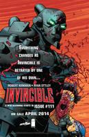 Invincible 111 ad by jtchan