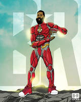 Bleacher Report Justice League: The Flash Harden by jtchan