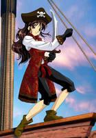 Pirate Girl by estrata