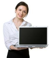 AthenaStock::Laptop Woman by AthenaStock