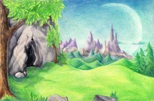 Scenic Plateau by AlmieLiandri