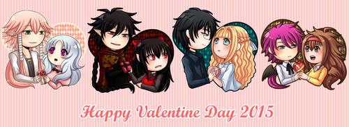 Happy Velated Valentines 2015 by kasama
