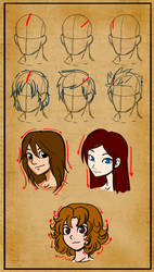 Hair tutorial by Master-sweez
