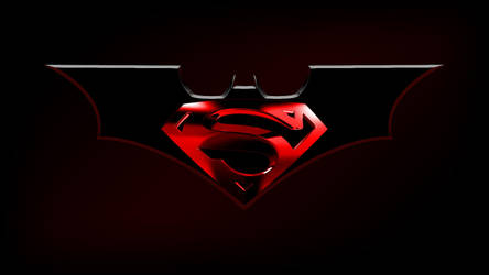 Batman Superman logo by Balsavor