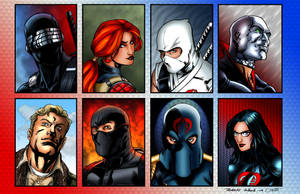 G.I. Joe cards colored by Balsavor
