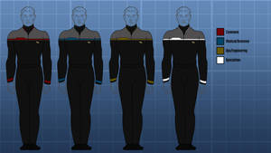 Starfleet uniform concept by Balsavor