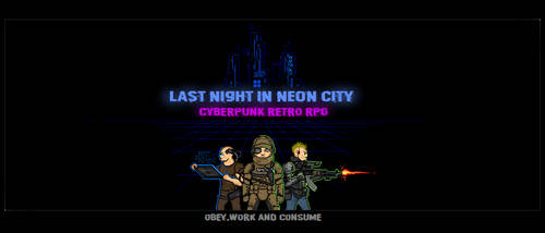 Last Night In Neon City by vasile20022003