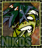 avatar nikos kamina zombie by Elya-Tagada