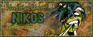 Sign nikos kamina zombie by Elya-Tagada