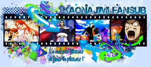 Banniere de test pour la Kaonajimi-Fansub by Elya-Tagada