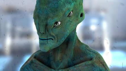 Sci-fi Alien by Shadowl360