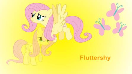 Fluttershy Wallpaper by Shing385629