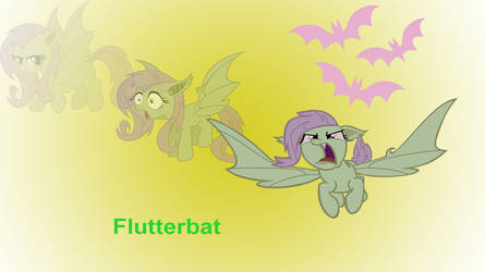 Flutterbat Wallpaper by Shing385629