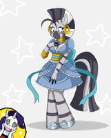 Zecora's Dress by ss2sonic