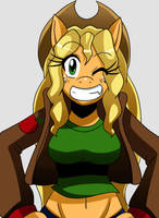 Time Skip MLP: Applejack by ss2sonic