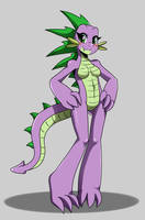 MLP: Female Spike by ss2sonic