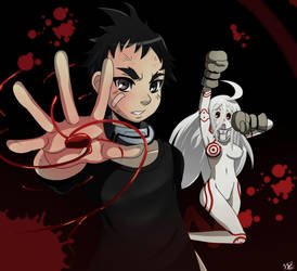 Ganta and Shiro by ss2sonic