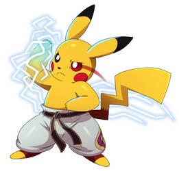 Pikachu Mishima by ss2sonic