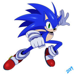 Sonic 2019 by ss2sonic
