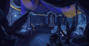 Ravenclaw Commonroom by corned-beeff