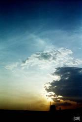 a few moment before sunset by eibbid