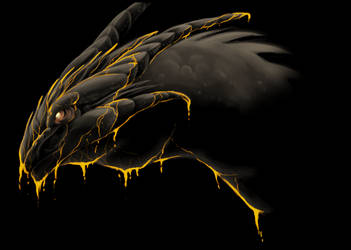 Random Dragon Doodle by Legendary-Darkness