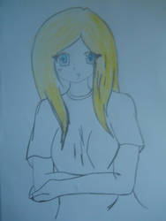 girl draw by maovei