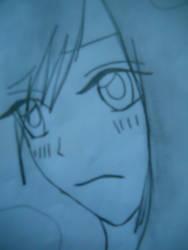 Anime Girl Sad by maovei