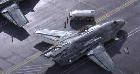 Bombers Refueling by MvGorlei