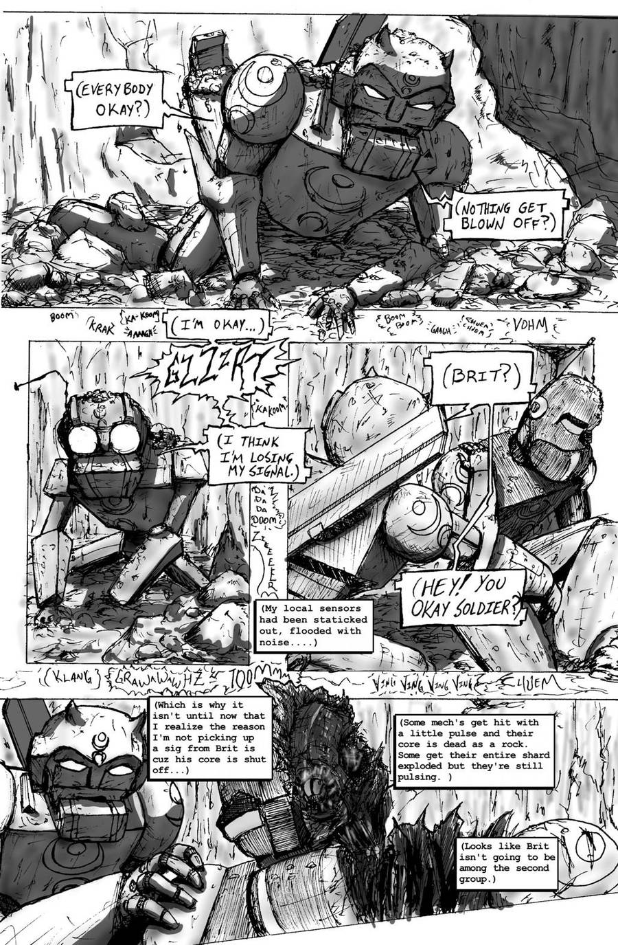 Droid Soldiers: Chapter One - Page 04 by JennerCarnelian