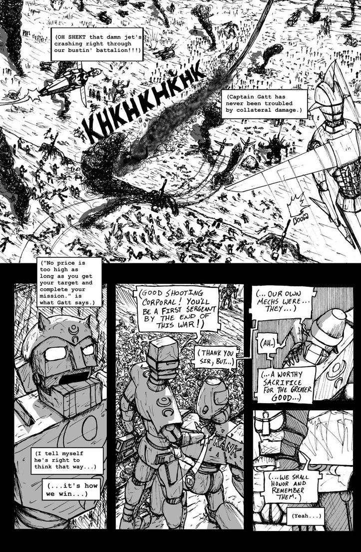 Droid Soldiers: Chapter One - Page 06 by JennerCarnelian
