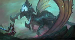 Dragon Hunter by Montjart