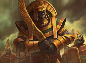 Mummy Warrior by Montjart