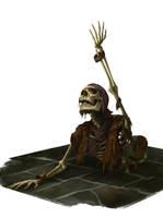 Skeleton Escape by Montjart