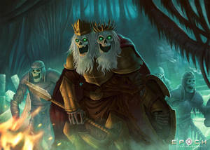 Skeleton King by Montjart