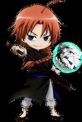 [RENDER] Kamui (Gintama) by crownprince-chan