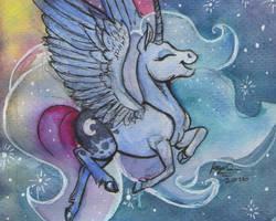 Dancing Luna by SagaStuff94