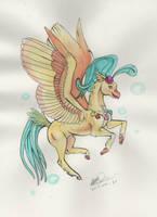Hippogriff Princess Skystar by SagaStuff94