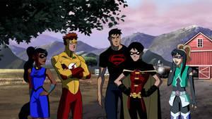 YJ: Monkey hates Superboys by AmayahimeDoodles